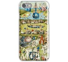Hieronymus Bosch - The Garden Of Earthly Delights 1515  iPhone Case/Skin