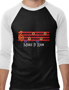Make It Rain Men's Baseball ¾ T-Shirt