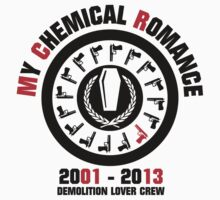 My Chemical Romance - Demolition Lover Crew by porkuskorpz