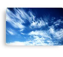 Southern Utah Clouds Canvas Print