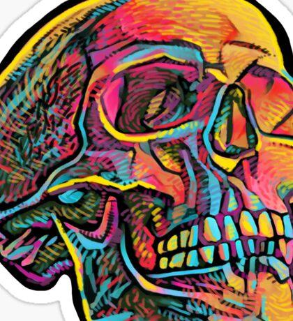 Skully GlowSkull Sticker