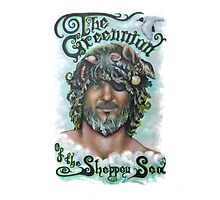 The Greenman of the Sheppey Sea Photographic Print