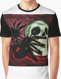 The Spider's Skull Graphic T-Shirt