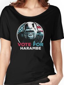Vote for Harambe Women's Relaxed Fit T-Shirt