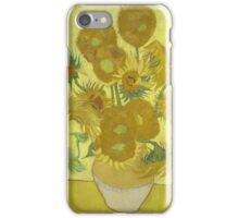 Vincent Van Gogh - Sunflowers 1989 iPhone Case/Skin