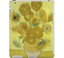 Vincent Van Gogh - Sunflowers 1989 iPad Case/Skin