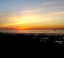 Mouille Point Sunset by Vanessa  Hayat