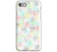 Abstract pencil iPhone Case/Skin