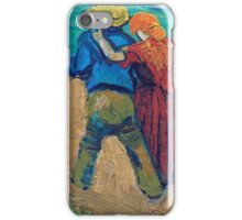 Vincent Van Gogh - A Pair Of Lovers, Arles, 1888 (Soby`s Version) iPhone Case/Skin
