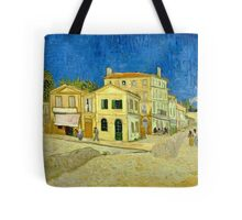 Vincent Van Gogh -  Yellow House, ` Street, September 1888 - 1888  Tote Bag