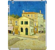 Vincent Van Gogh -  Yellow House, ` Street, September 1888 - 1888  iPad Case/Skin