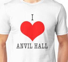 I Love Anvil Hall Unisex T-Shirt