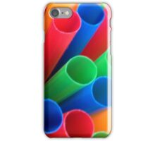 Straws Made For Drinking iPhone Case/Skin