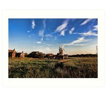Cley windmill cley next the sea Art Print