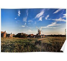 Cley windmill cley next the sea Poster