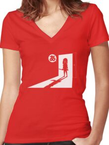 Osaka - The Wake Up Call Women's Fitted V-Neck T-Shirt