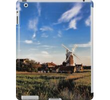 Cley windmill cley next the sea iPad Case/Skin