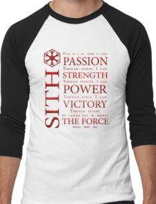 Sith Code Men's Baseball ¾ T-Shirt