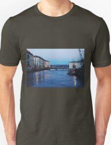 night reflections Unisex T-Shirt