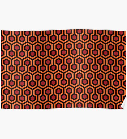 The Shining - Carpet pattern  Poster