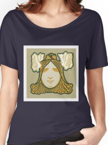 Art nouveau,vintage,rustic,reproduction,elegant,chic,victorian Women's Relaxed Fit T-Shirt