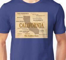 antique California State Pride Map  Unisex T-Shirt