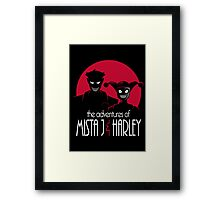The Adventures of Mista J and Harley Framed Print