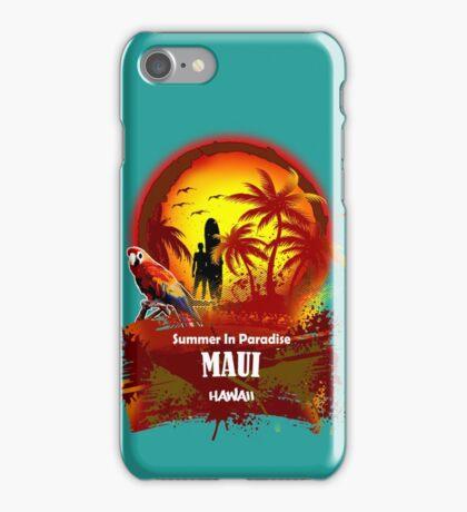 The Best Maui Surfer Spirit iPhone Case/Skin