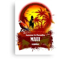 The Best Maui Surfer Spirit Canvas Print
