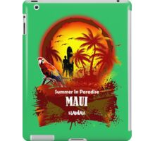 The Best Maui Surfer Spirit iPad Case/Skin