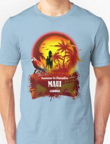 The Best Maui Surfer Spirit Unisex T-Shirt