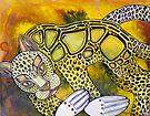 Golden Leopard by Lynnette Shelley