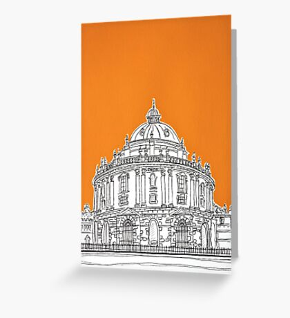 Radcliffe Library Oxford Greeting Card