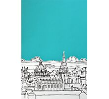 Oxford Rooftops Photographic Print