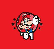 Video Game Heroes - Mario (1981) by Jarmez
