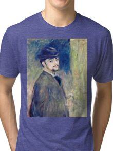 Renoir Auguste - Self Portrait (1876)  Tri-blend T-Shirt