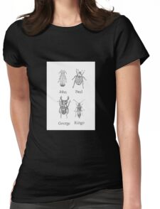 Meet The Beetles Womens Fitted T-Shirt