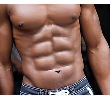 Thats`s a real sixpack !! Photographic Print