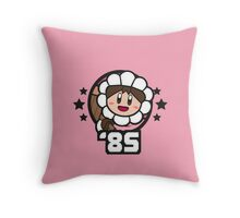 Video Game Heroes - Ice Climber: Nana (1985) Throw Pillow