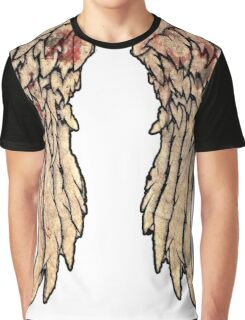 Daryl Dixon, The walking dead inspired biker wings. Graphic T-Shirt