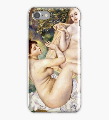 Renoir Auguste - The Large Bathers (1884 - 1887)  iPhone Case/Skin