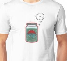 Just Because I'm a Brain In a Jar Doesn't Mean We Can't Be Friends Unisex T-Shirt