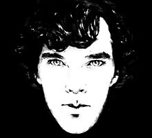 Sherlock B/W by br0-harry