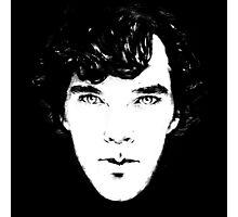 Sherlock B/W Photographic Print