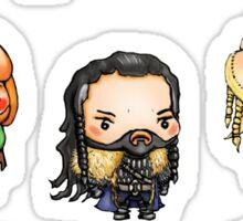 Dwarves and Friends Sticker