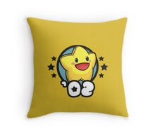Video Game Heroes - Starfy (2002) Throw Pillow