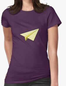 Paper Airplane 10 Womens Fitted T-Shirt