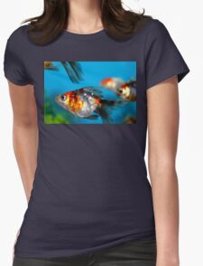 Little Fish Womens Fitted T-Shirt