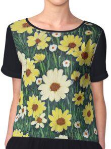 Field of daisies Chiffon Top