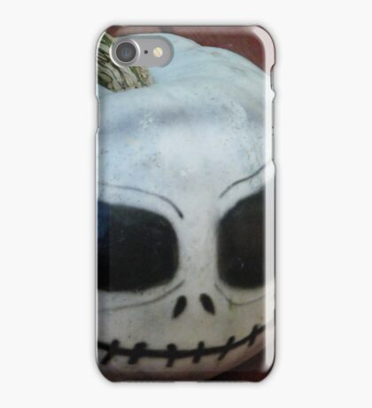 Jack the Jack-o'-lantern.... iPhone Case/Skin